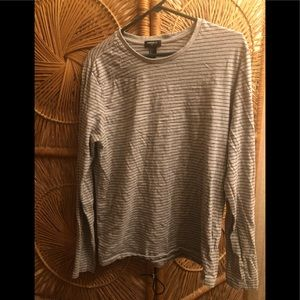 Gray and black long sleeve from Forever 21